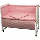 Набор Руно для новорожденных Веселый горошек розовый