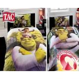Комплект постельного белья TAC Disney Shrek three in one
