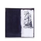 Набор махровых полотенец Diandra Ship