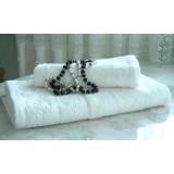 Набор махровых полотенец Diandra FLASHY белый