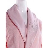 Халат махровый Diandra ADA розовый