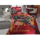 Комплект постельного белья Hobby Batman красный