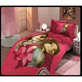 Комплект постельного белья Hobby Max темно-розовый