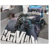 Комплект постельного белья Hobby Batman черный