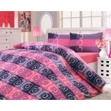 Комплект постельного белья Hobby Checked розовый