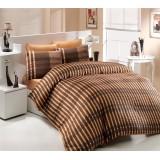 Комплект постельного белья Hobby Victoria коричневый