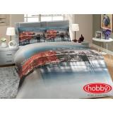 Комплект постельного белья Hobby New York голубой